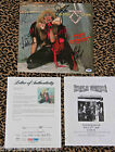 TWISTED SISTER signed autographed STAY HUNGRY record album LP by ALL PSA DNA COA
