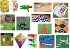 Garden Game Kids Adult Games Archery Darts 4 in Row Qouits Jenga Cards Dominoes
