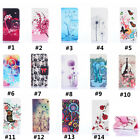 Phone Flip Stand PU Leather Case Wallet Cover For iPhone 6 6S 7 Plus 4 4S 5 SE