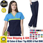 Внешний вид - WonderWink Origin [XS-3XL] Women's Scrubs Set Medical Top Bottom Work Uniform