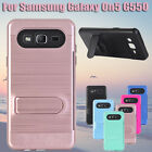 Card Hybrid ShockProof Case Stand Cover Skin For Samsung Galaxy On5 G550 Case US