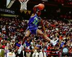 Isaiah Rider Portland Trail Blazers NBA Dunk Contest Photo TZ122 (Select Size)
