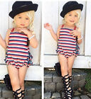 Newborn Infant Girls Bodysuit Romper Baby Girl Jumpsuit Outfits Summer Clothes