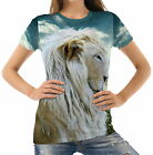 White Lion Womens T-Shirt Tee wb1 acr40240