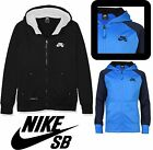 Nike SB Kids Hoodies Boys Teens Fleece Sweatshirt Jumper Sports Top Tracksuit