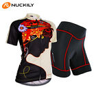 Sports Womens Cycling Wear Bike Short Sleeve Clothing Bicycle Set Jersey Shorts