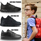 Kids Nike Back to School Leather Trainers Boys Girls Junior Sports Fitness Shoe