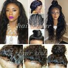Super Loose Wave Peruvian Virgin Human Hair Lace Front Full Wig with Baby Hair h