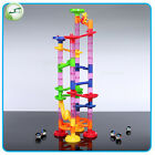 Funny Marble Run Race Set Building Blocks Construction Toy Game Marbles Track