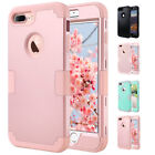 For iPhone 7/7 Plus Hybrid Heavy Duty Full-Body Shockproof Protective Cover