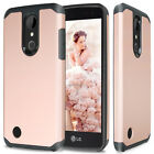For LG K20 Plus/K20 V/Harmony Hybrid ShockProof Rugged Protective Case Cover