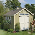 10x12 wooden shed - Little Cottage Company Colonial Williamsburg Wooden Storage Shed