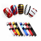 3D Nail Art Tips Decoration Striping Tape Line Forms Manicure Sticker DIY Tool