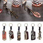 Vintage Cat Pig Eagle Robot Fishbone Swan Keychain Keyring Key Chain Ring Gift