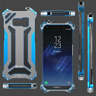 3 Colors R-JUST Gundan Alum Phone Case Cover For Samsung Galaxy S8/S8 Plus
