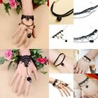 Bracelet Fashion Black Women Beads Lace Bangle Chain Adjustable Jewelry