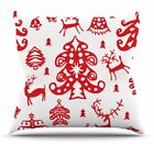 East Urban Home Frosted Landscape by Miranda Mol Throw Pillow $66.99 USD