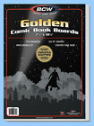BCW: Comic Book Acid-Free Backing Boards: GOLDEN Size: (10 Pks) *1000ct/CASELOT
