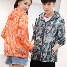 Men Women Windbreaker Packable Waterproof Sun Protection Hoodies Outdoor Jacket