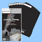 BCW: Fold-Tab Box Dividers: COMIC Size BLACK  25ct *FREE SHIPPING in USA
