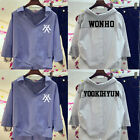 KPOP MONSTA X YOOKIHYUN Merchandise Lace Shirt JOOHEON Fashion Long Sleeve