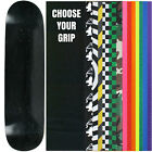 "Skateboard Deck Pro 7-Ply Canadian Maple STAINED BLACK With Griptape 7.5"" - 8.5"""
