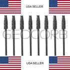 BLACK MASCARA EYELASH MAKEUP BRUSH APPLICATOR WAND DISPOSABLE COSMETIC 1-1500