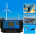 10/20/30A USB Solar Panel Battery Regulator Charge Intelligent Controller NEW UK