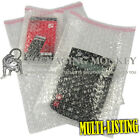 QUALITY CLEAR BUBBLE WRAP POUCHES BAGS ENVELOPES SELF SEAL PACKAGING *ALL SIZES*