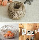 Twisted Burlap String Natural Ribbon Fiber Jute Twine Rope Toy 3-Ply 10M .