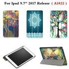 CY-Colorful Slim Stand PU Leather Case Cover for Apple New ipad 9.7 2017 A1822