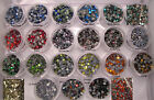 Variety Mix or Crystal Clear GLASS Hotfix Rhinestones High Quality Clearance