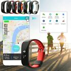 SmartBand Blood Pressure Monitor Tracker Heart Rate Monitor for iOS Android