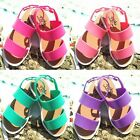 Fashion Girls Sandals Kids Casual Summer Beach Shoes Flat Jelly Infant Toddler