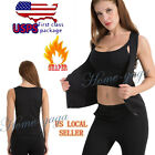 Women Lady Shaper Neoprene Yoga Fitness Vest Sport Tank Top Hot Sweat Shirt Vest
