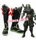 Overwatch  Cosplay Shoes Selivey Battleframe Boots Custom Made Size