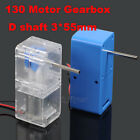 Geared 130 Decelerate Motor 1:94 Gear Box D Hexagonal Shaft for Toy Robotic Car
