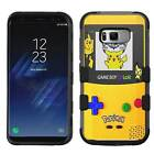 Pokemon Pikachu Gameboy Rugged Armor Case for Samsung Galaxy S8/Plus/S7/Edge