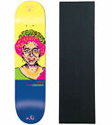 "ENJOI Skateboard Deck PRESIDENTS RAEMERS 8.25"" Resin 7 with Jessup Grip"
