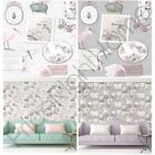 vintage chic wallpaper - HOLDEN VINTAGE CURIOSITY COLLAGE CHIC WALLPAPER DUSKY PINK HEATHER FEATURE WALL