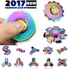Fidget Finger Spinner Hand Focus  Stainless Steel Rainbow EDC Bearing Stress Toy