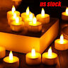 24pc LED Tea Electronic Light Candle Realistic Battery-Powered Flameless Candles