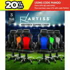 Racing Office Chair Sport Executive Computer Gaming Deluxe PU Leather Mesh 22