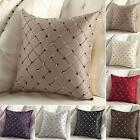 Multicolored Plaids Throw Pillow Case Square Cushion Cover Sofa Bed Decor #4