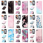 For iPhone 5C Colorful Patterns Leather Credit Card Wallet Stand Flip Case Cover