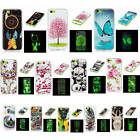 For iPhone 5C New Fluorescent Glow In The Dark Soft Pop TPU Silicone Case Cover