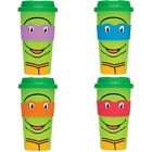 Teenage Mutant Ninja Turtles TMNT Travel Mug New Official Nickelodeon Raphael