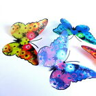 Floral Butterflies - F5 - Weddings, Crafts, Bouquets, Decorations, Wall Art