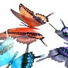 B191- Butterflies Weddings Crafts, Cake Topper Decorations Cards
