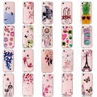 "Fr iPhone 7 4.7"" Transparent Painted Bumper Soft TPU Silicone Fashion Case Cover"